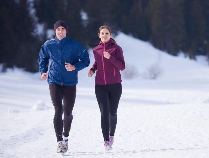 Зимний бег — советы и основные моменты, которые надо учесть