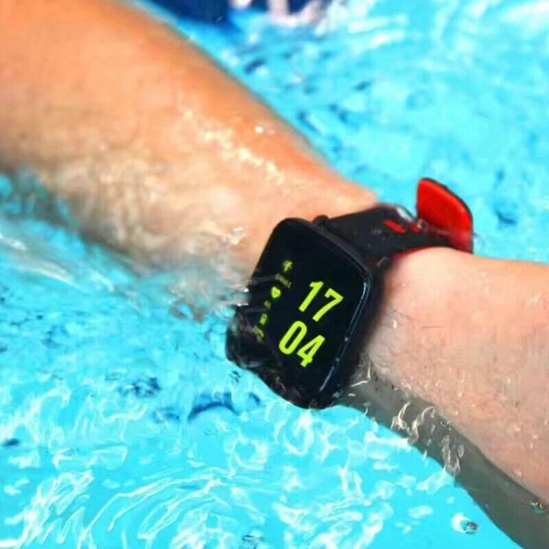 Лучшие водонепроницаемые смарт часы для плавания в море. мужские электронные часы для плавания в бассейна.