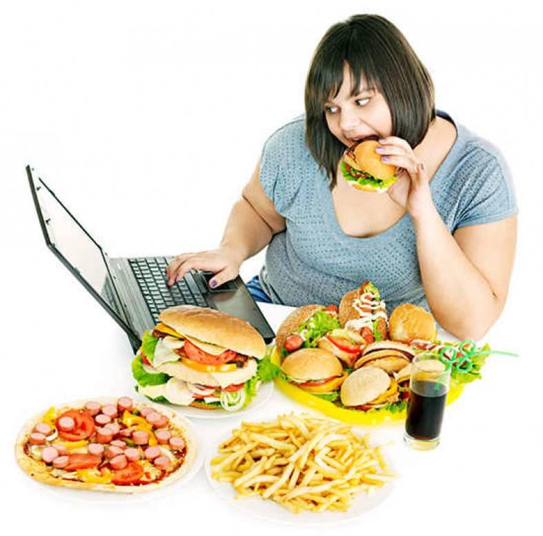 От каких продуктов толстеют, полнеют женщины?